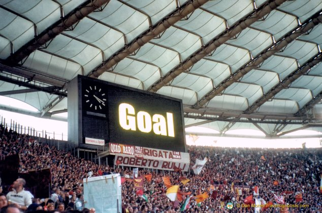 Roma scores
