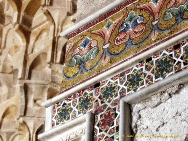 Honeycombed ceilings, marble friezes and glittering mosaics at the Zisa Palace