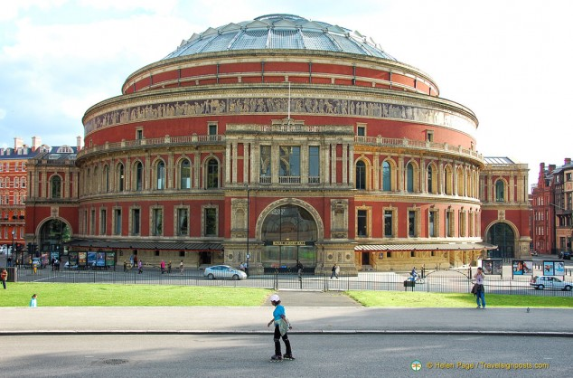 Royal Albert Hall from Kensington Gardens