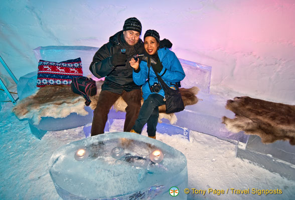 Kirkenes Snow Hotel Lounge