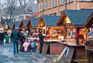Trondheim Christmas Market, Norway