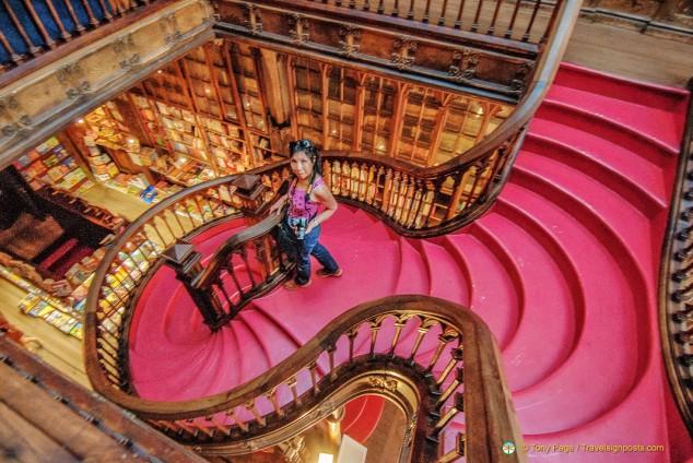 Lello Bookshop Staircase - Porto