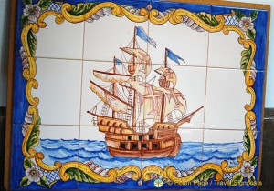 Souvenir Ceramic Tile - Oporto Shopping
