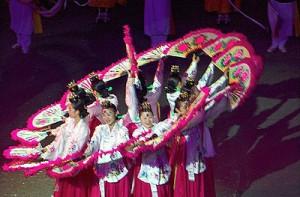 Korean cultural troop