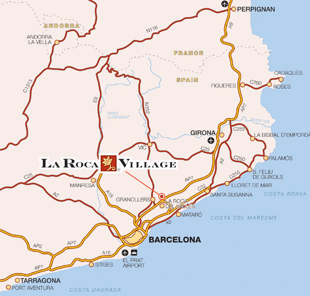 la roca village a designer outlet in barcelona