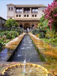 Generalife Palace and Gardens