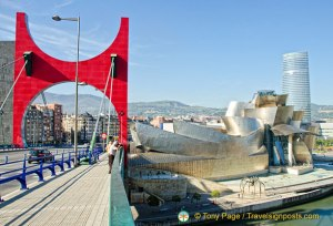 Sights of Bilbao, Basque Country