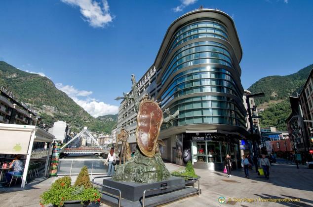 Dali Sculpture in Andorra