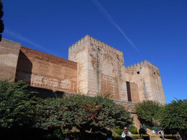 The Alcazaba, Alhambra, Granada
