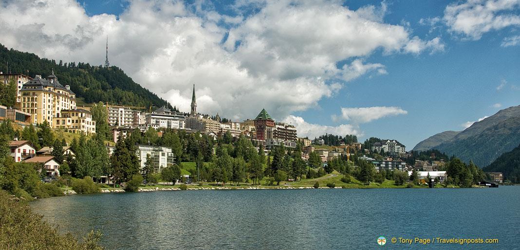 St. Moritz - A Glitzy Swiss Ski Resort