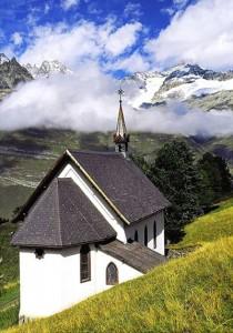 Riffelalp Chapel in Zermatt