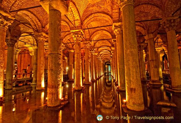 yerebatan sarayi sarnici basilica cistern of justinian