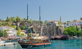 See the Beautiful Coastline of Antalya on a Gulet Cruise
