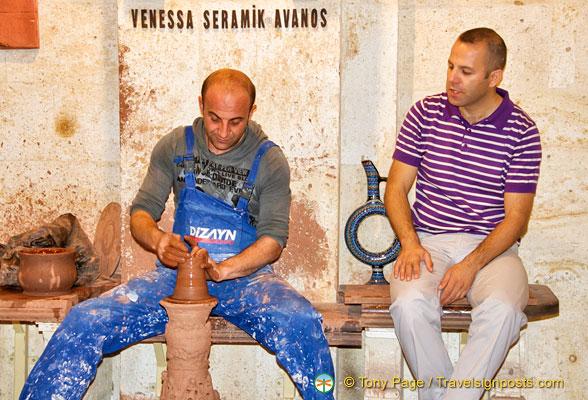 Avanos Pottery Factory