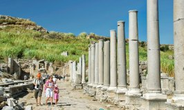 Perga colonnaded street