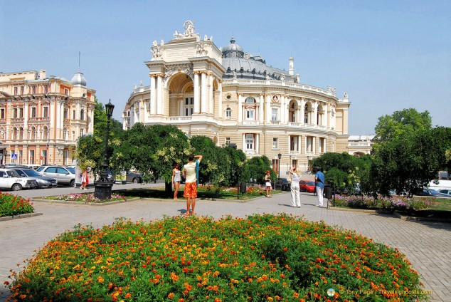 Opera and Ballet Theatre, Odessa, Ukraine