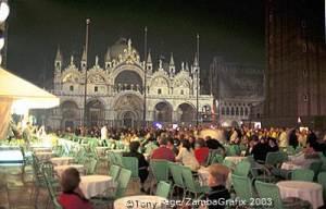 Venice Restaurants - Piazza San Marco