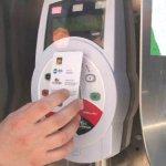 ACTV ticket validation machine