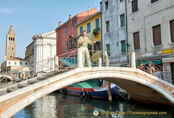 Ponte dei Pugni, Venice Bridge