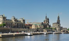 Dresden waterfront