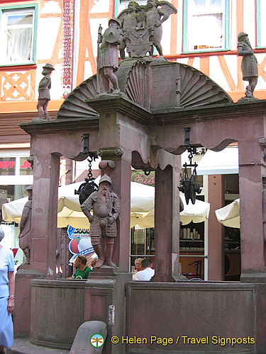 Angels fountain