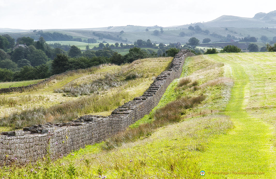 Did Hadrian build Hadrian's Wall - We find out on our walk