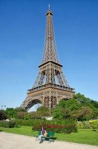 Helen and the Eiffel Tower