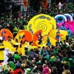 Festival in Dublin:  St Patrick's Day 2017