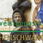 Hohenschwangau Castle; a Walk through the Castle Garden