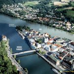 The Great Passau Floods. Think metres, not inches.