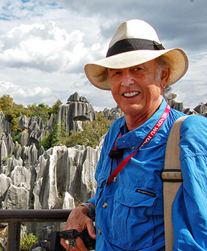 Tony at Kunming Stone Forest, China