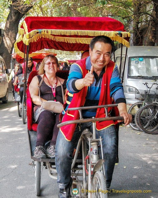 Rickshaw tour of Beijing hutongs
