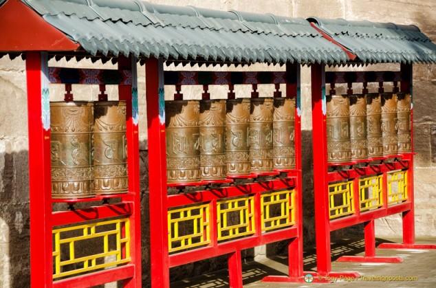 Puning Temple Prayer Wheels
