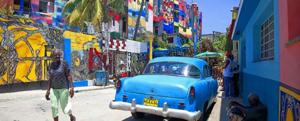 Callejon de Hamel Cuba TravelSmart VIP blog