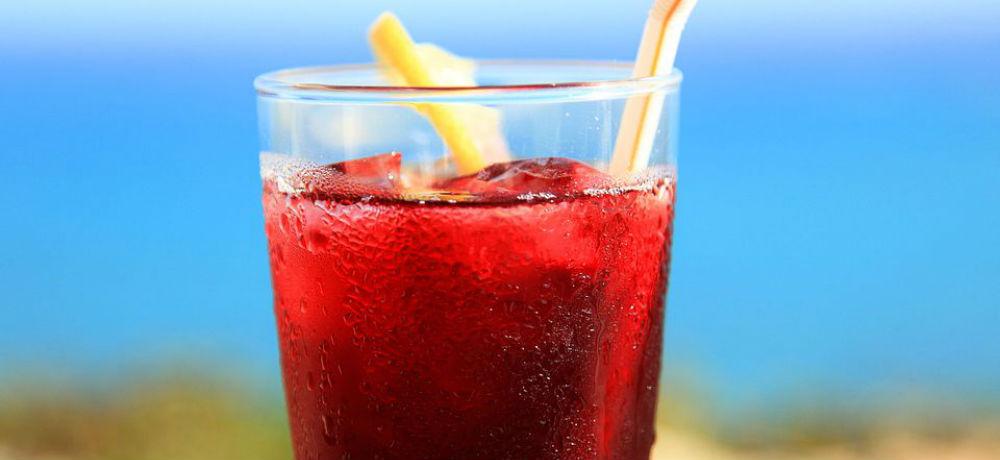Mexican Cocktail Agua De Jamaica Hisbiscus Tea TravelSmart VIP
