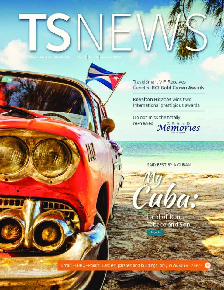 TSNews TravelSmart VIP Newsletter Autumn 2018