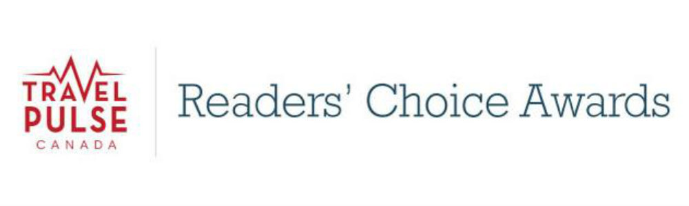 TravelPulse Readers Choice 2019 Logo TravelSmart VIP
