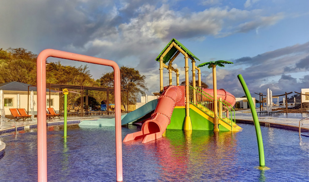 Family Fun Royalton Antigua splash pad TravelSmart VIP