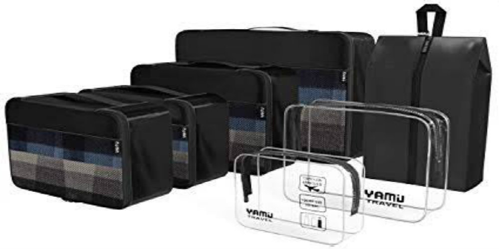 travel gifts under 20usd - packing cubes - travelsmart vip