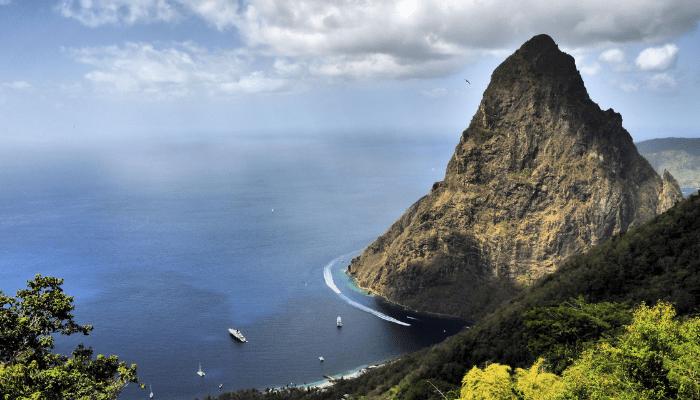 Piton Mountains St Lucia