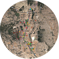 South Central New Mexico Interactive Travel Map