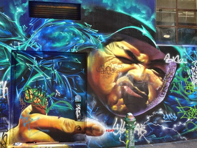 Hosier Lane, Street Art