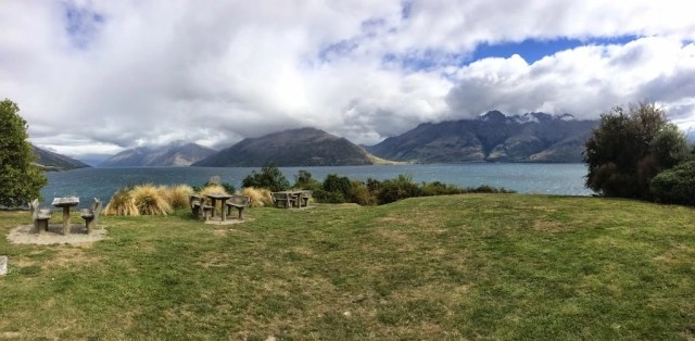 Drift Bay showing Lake Wakatipu