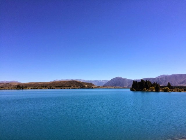 Lake Ruataniwha, Twizel, New Zealand
