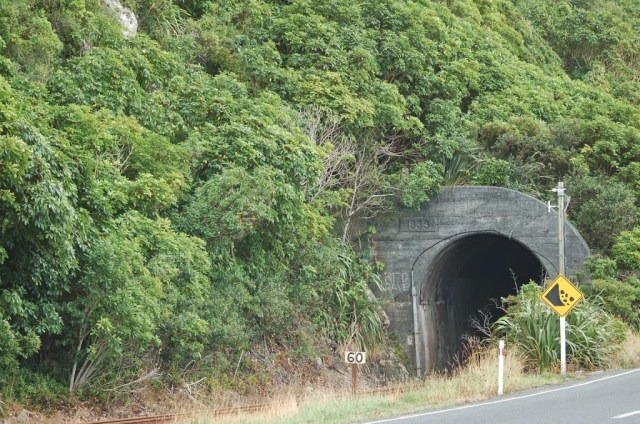 Kaikoura train tunnels