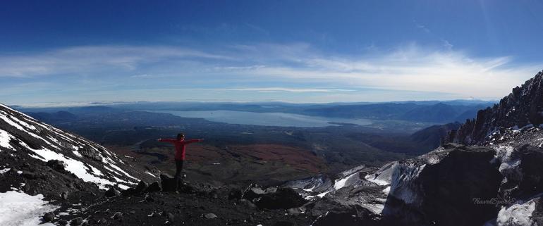 Vulkan Villarrica Aussicht