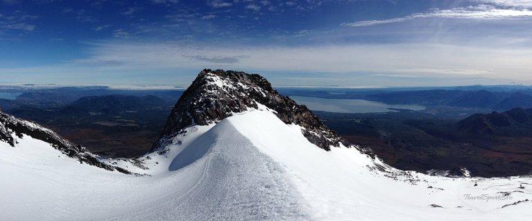 Vulkan Villarrica Pucón Aussicht