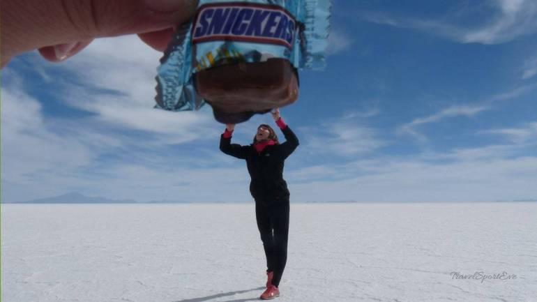 Fotoparade - Bolivien Salzwüste Uyuni Gewachsen