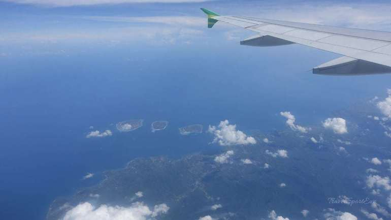 Flug Bali Osttimor Gili Inseln