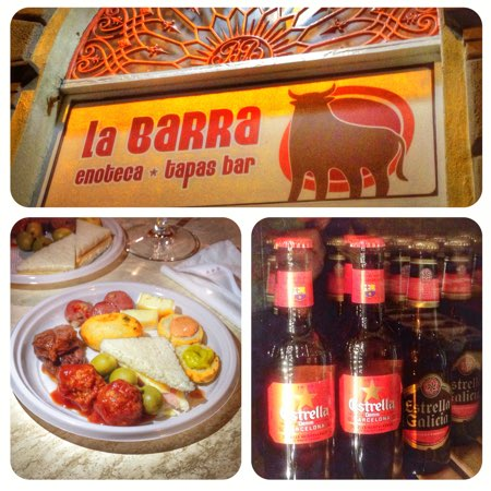 la barra tapas bar pisa